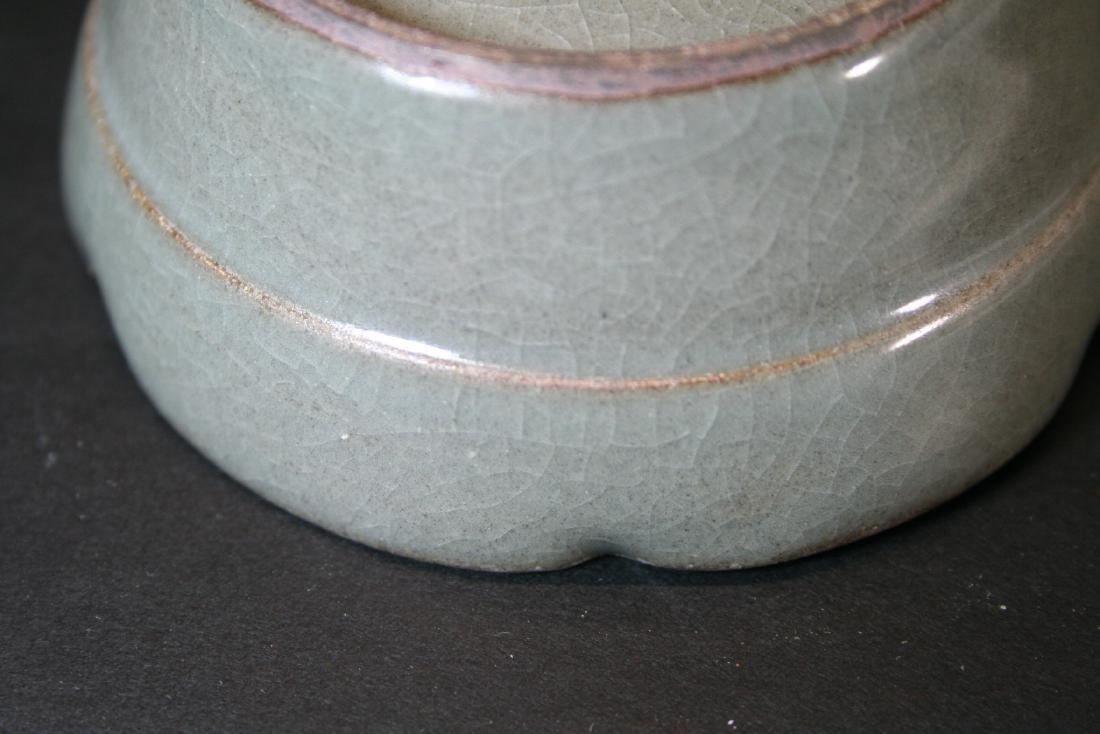 Chinese Celadon Porcelain Bowl - 8