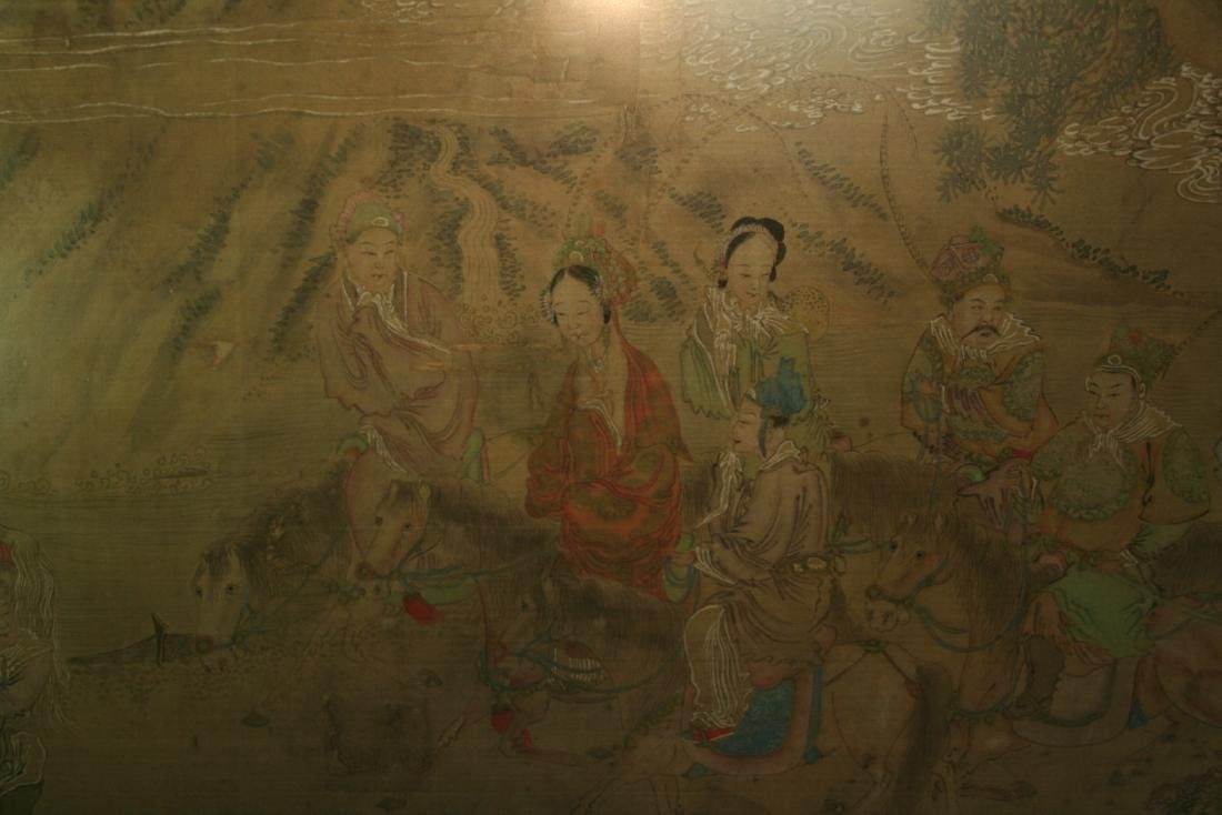 Chinese Ink on Silk Painting - 5