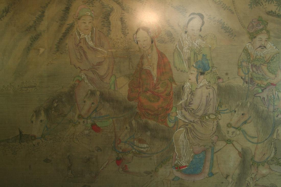 Chinese Ink on Silk Painting - 6