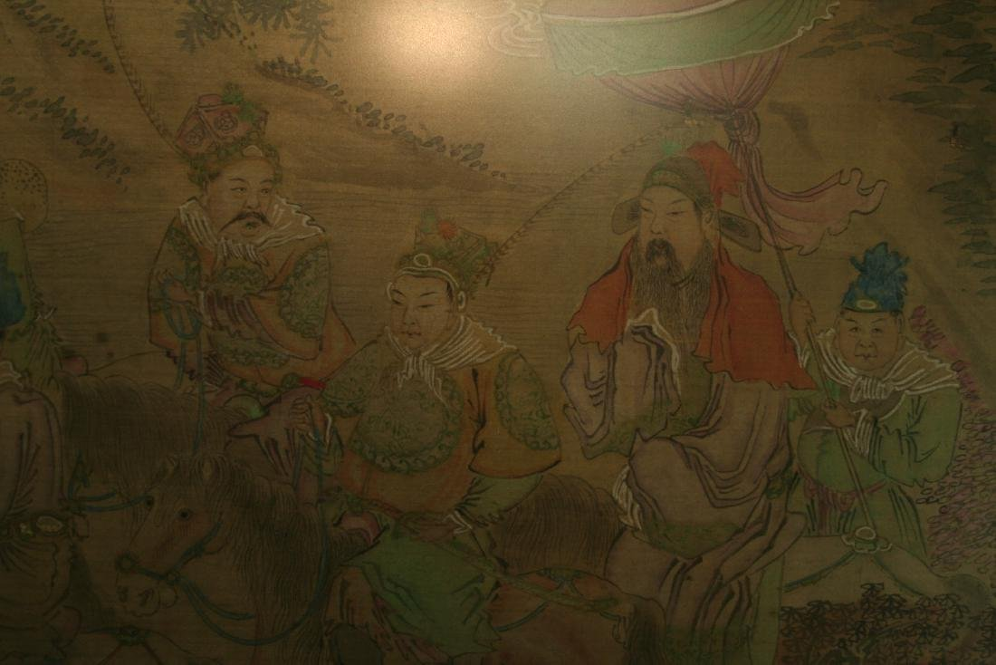 Chinese Ink on Silk Painting - 8