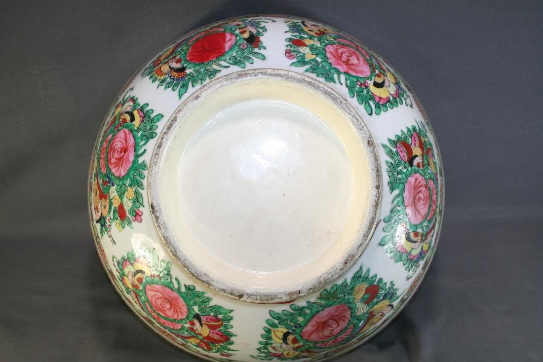 Chinese Porcelain Punch Bowl - 6