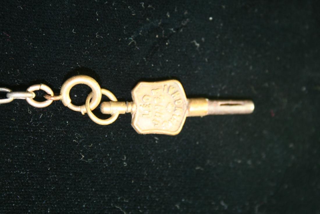 Silver Pocket Watch Chain - 2