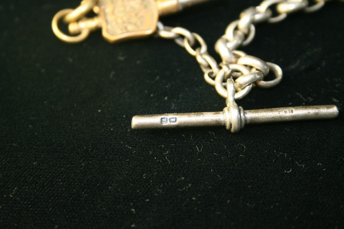 Silver Pocket Watch Chain - 5