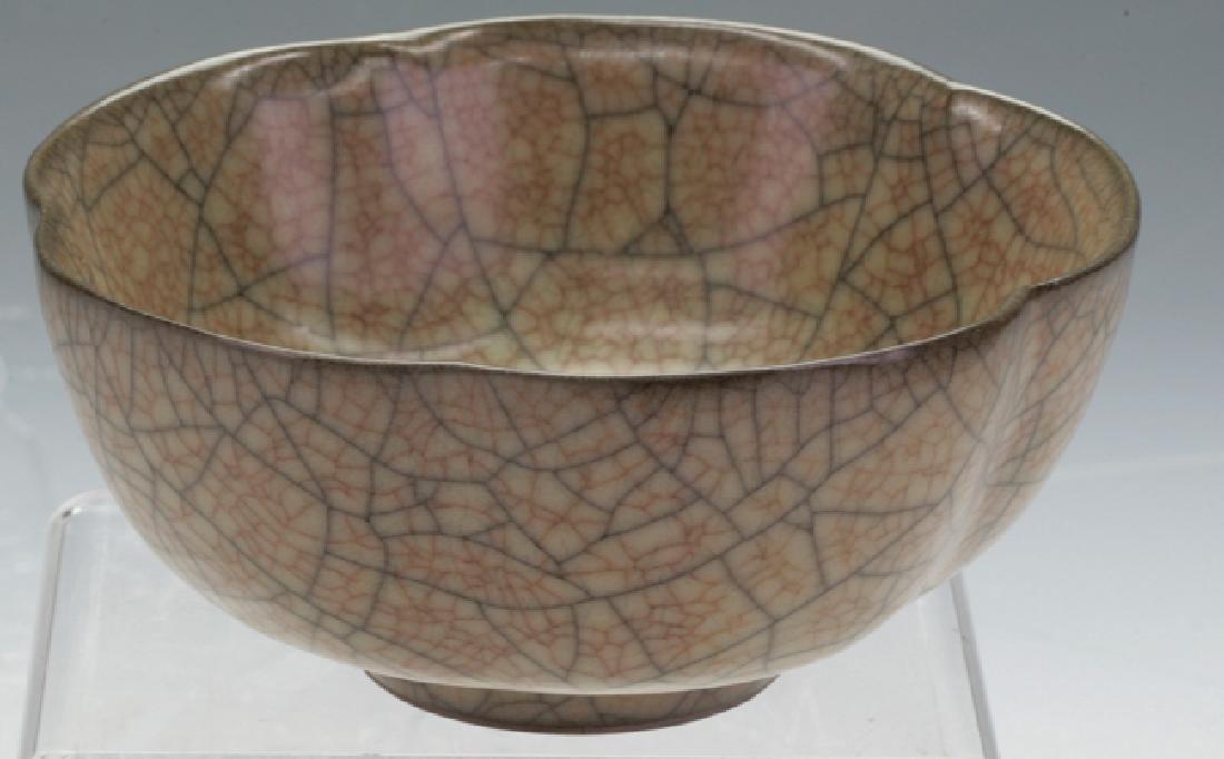 Chinese Crack Glazing Bowl