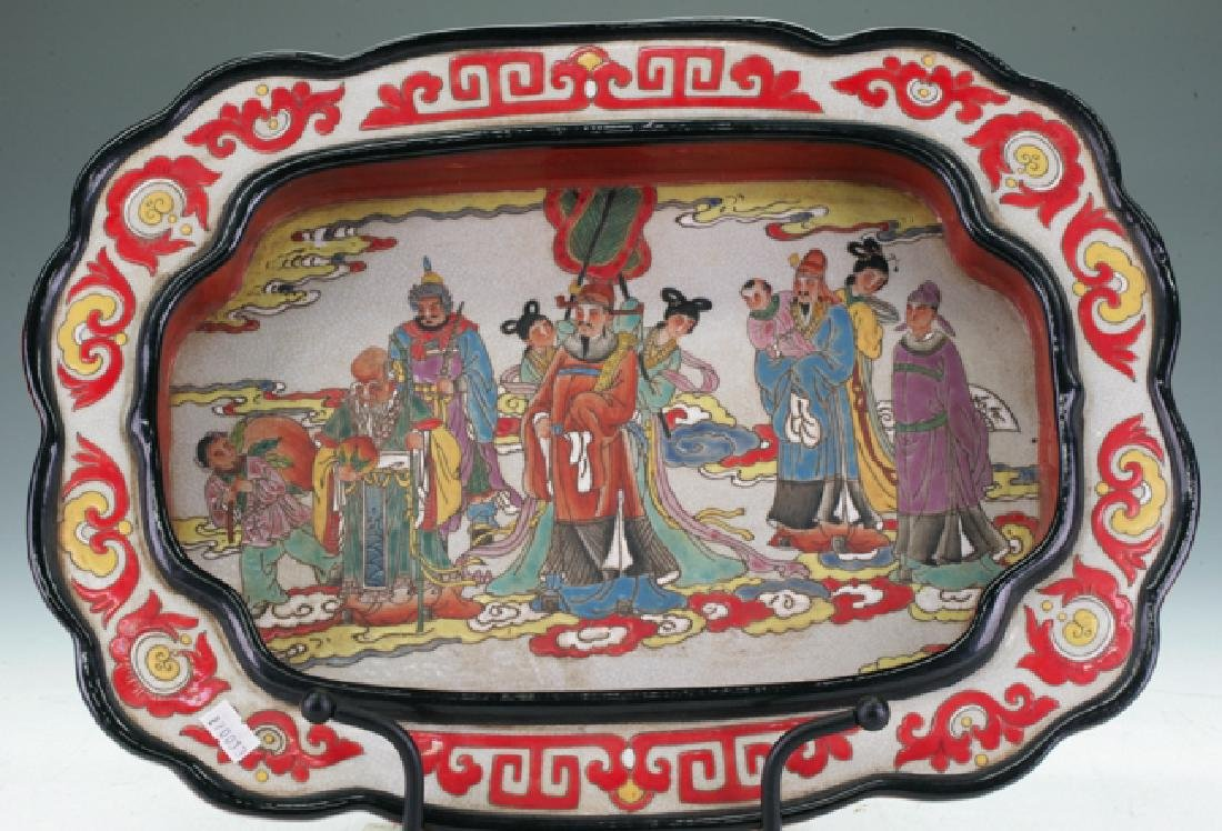 Chinese Pottery Tray
