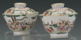 Important Pair of Tea Cups