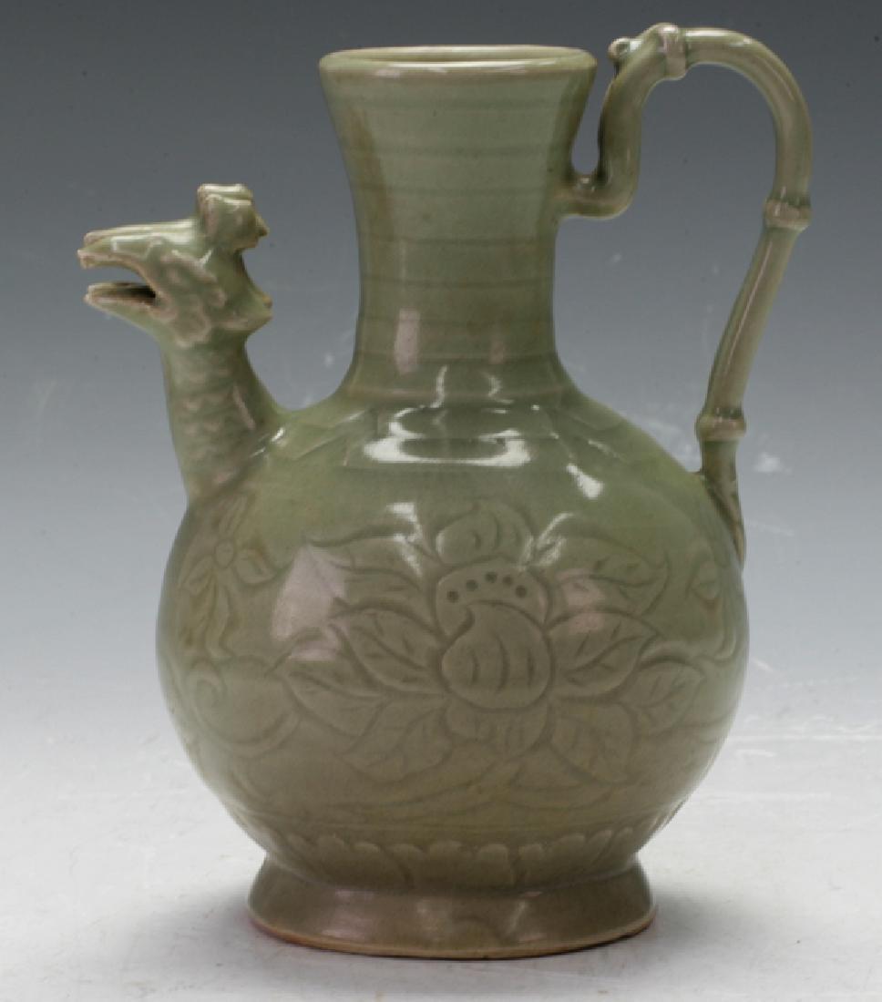 Pottery wine pot