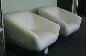 Pair of Chairs designed and made in Italy