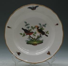 C19Th Meissen Plate