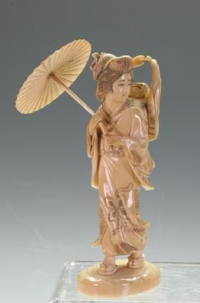 Japanese Okimono Figurine