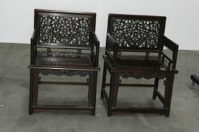 Pair of Mahogany chairs