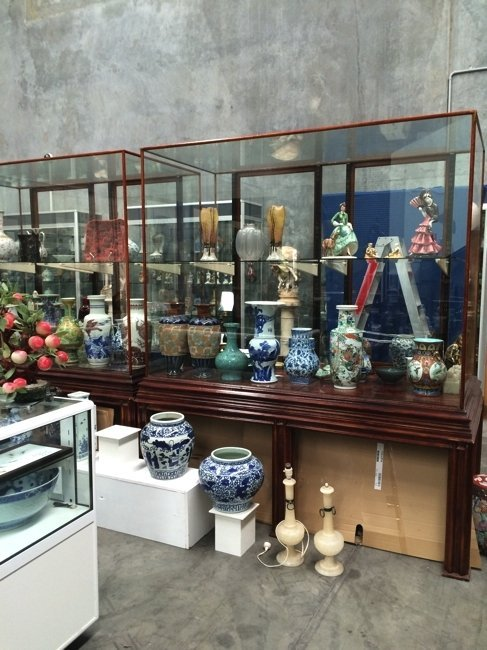 Top quality museum show Cabinets