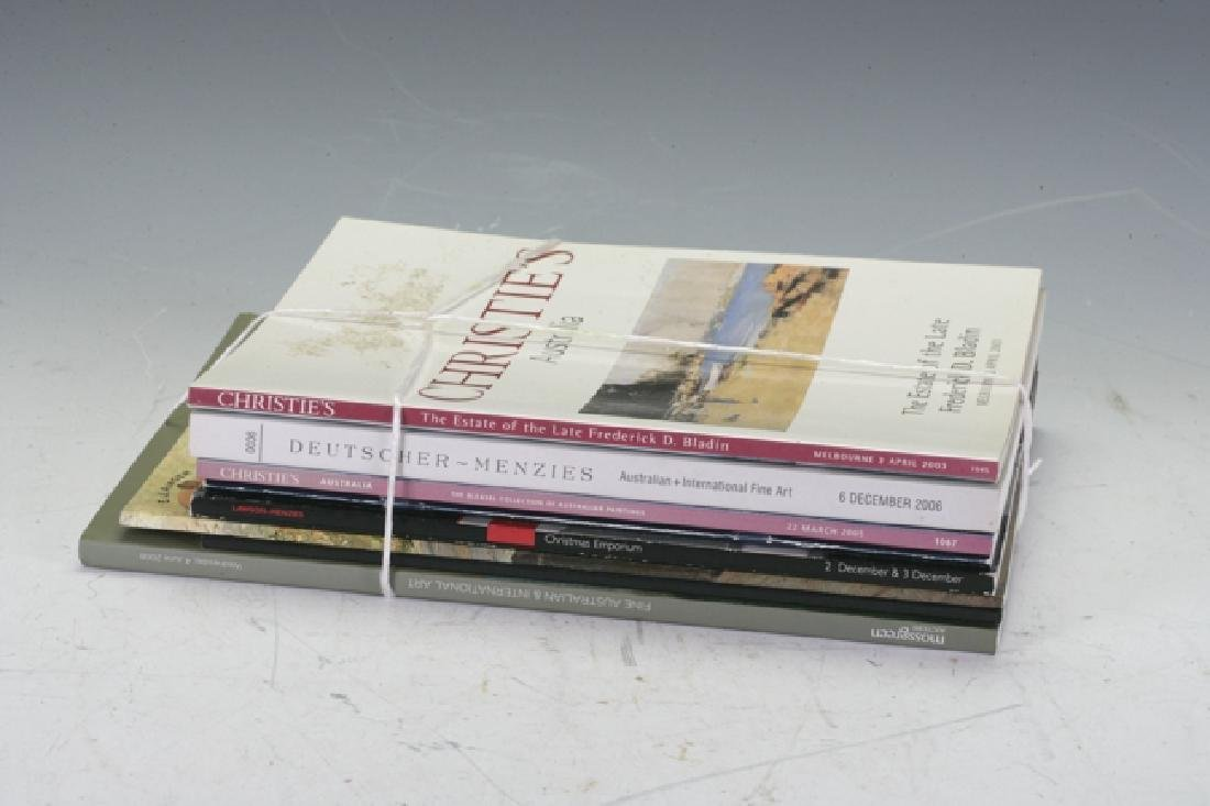 Collection of Auction catalogues