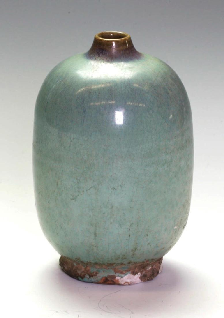 Beautiful Jung-Ware Bottle Vase