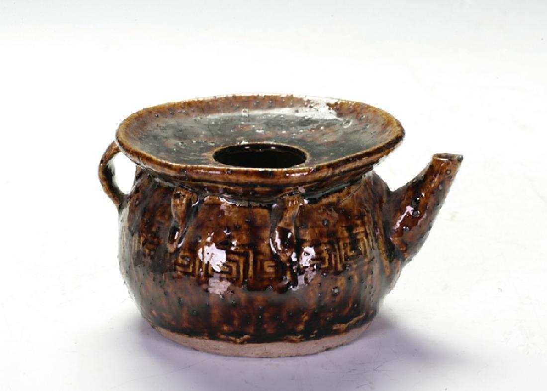 Pottery Oil Drop