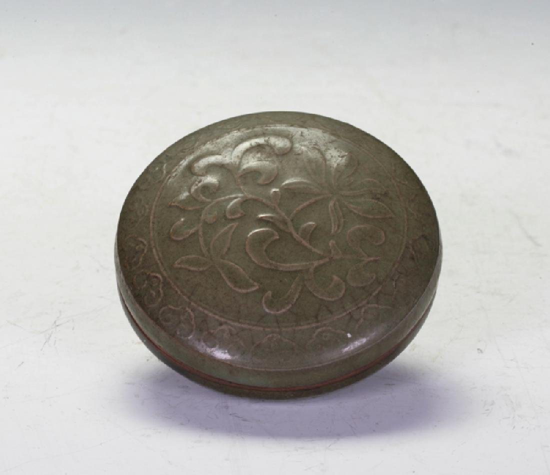 Celadon Stamp Box