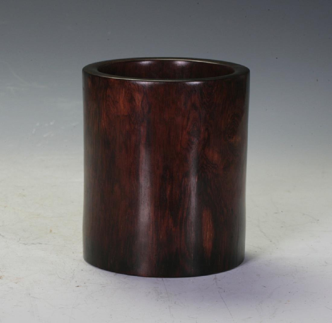Hardwood Brush Pot