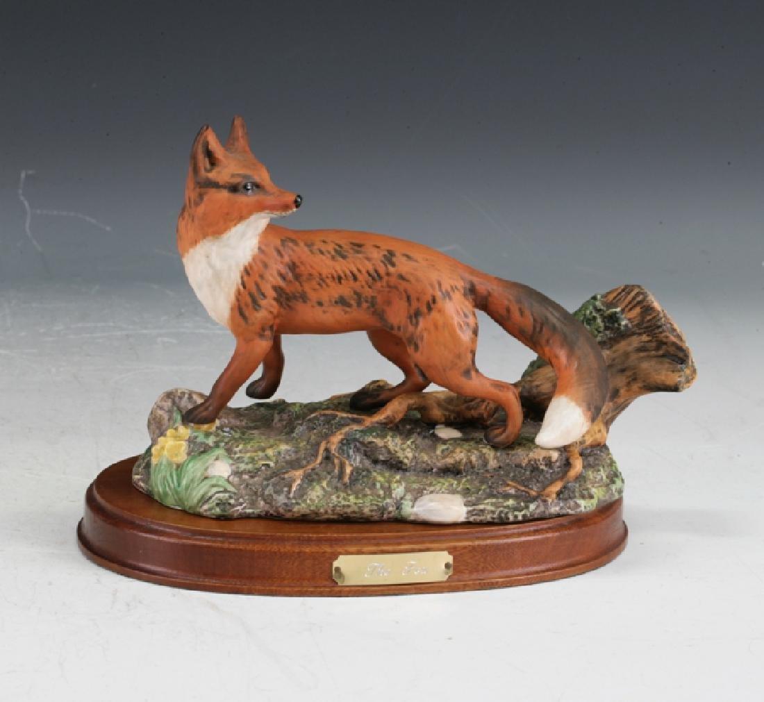 Royal Worcester Fox Figure