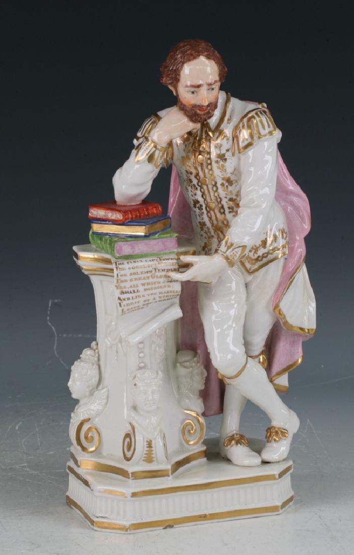 C18Th. English Porcelain Derby Figure