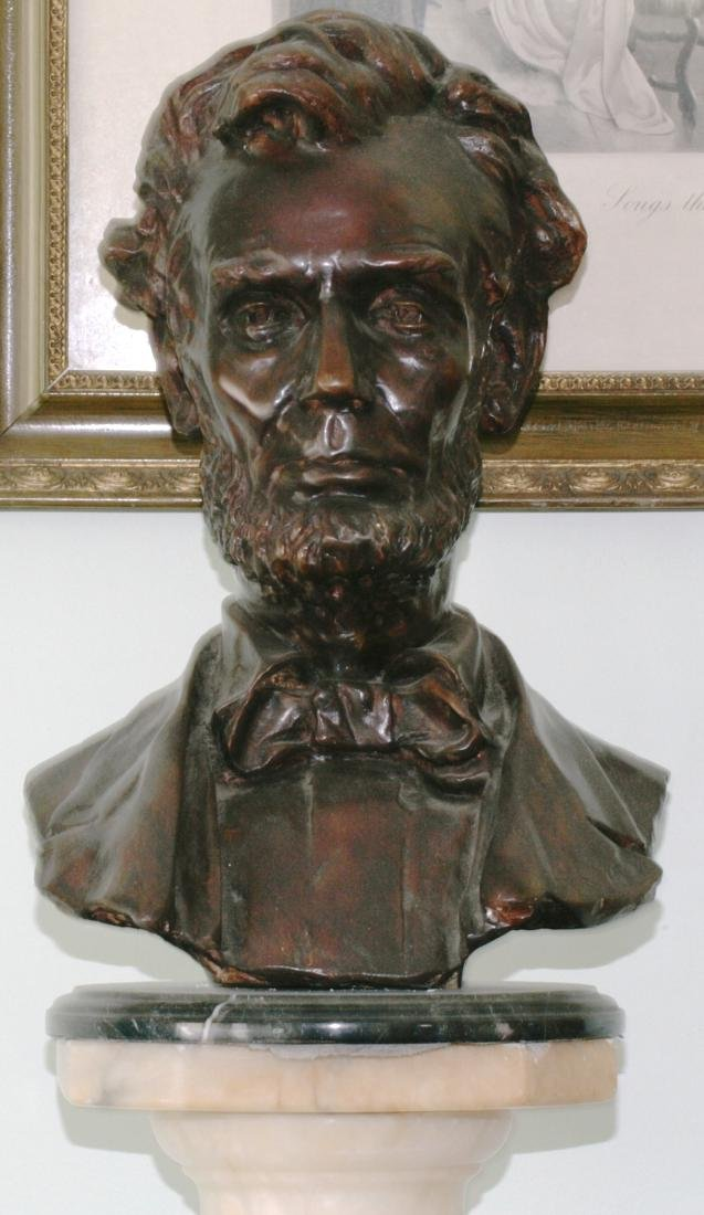 Bronze Bust Of A. Lincoln