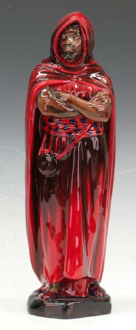 A Flambe Royal Doulton figure