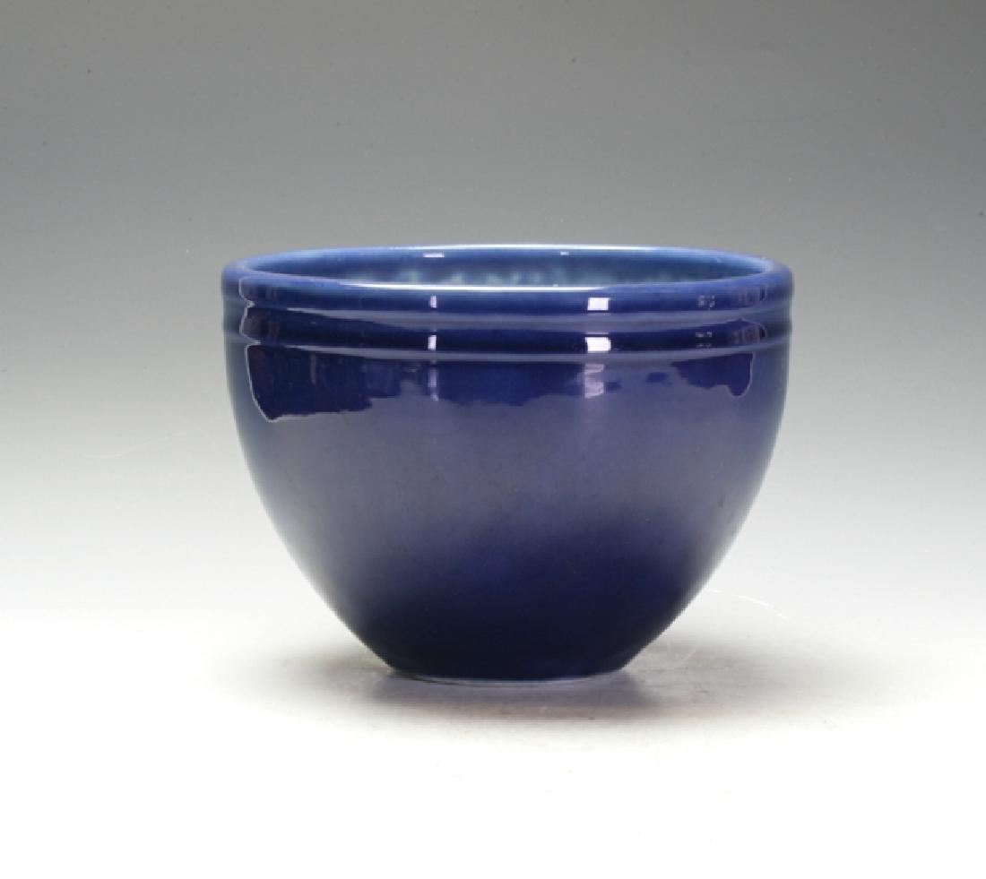 Qian Long Deep Blue Jar