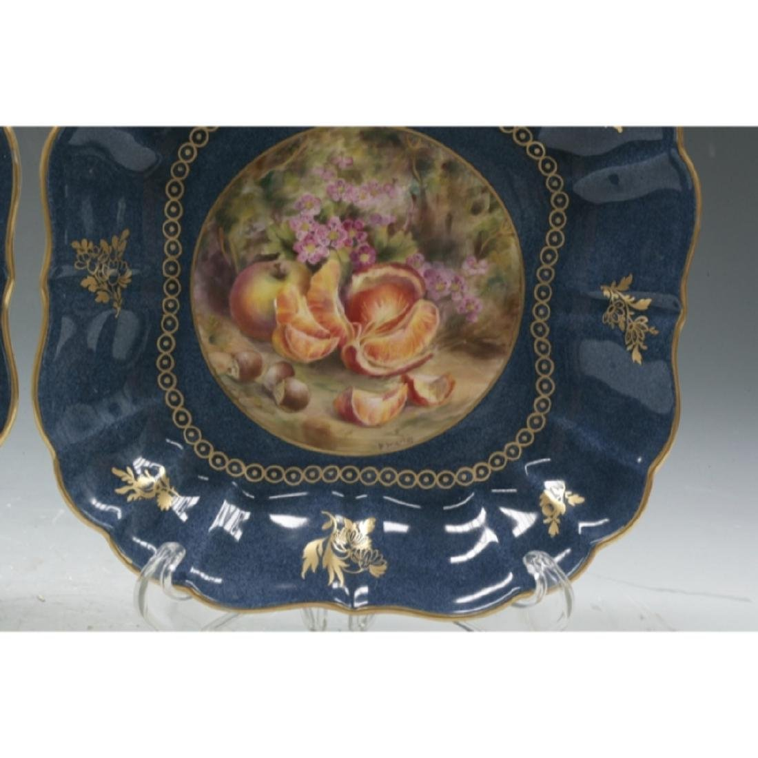 Pair Of Royal Worcester Dishes - 2