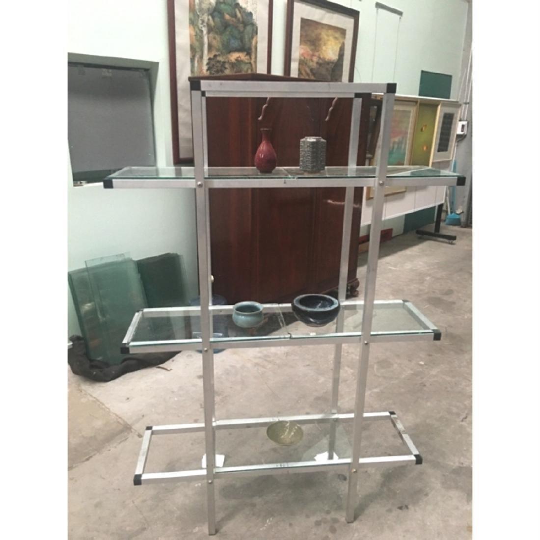 Portable Exhibition Cabinet : Six exhibition portable glass cabinet