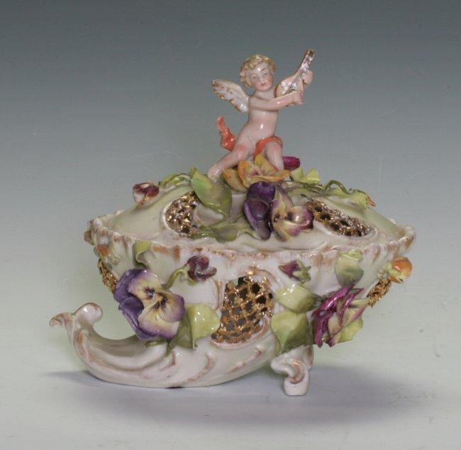 European Porcelain Incense Burner