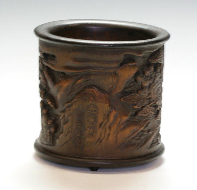 Bamboo Brush Pot