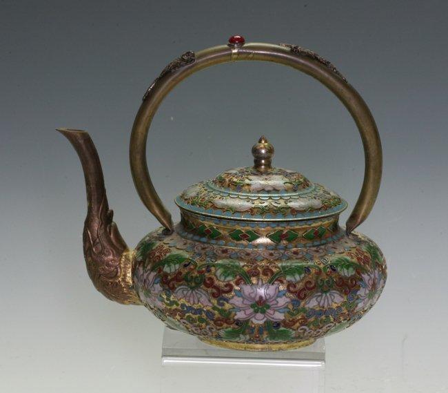 Cloisonne Tea Pot