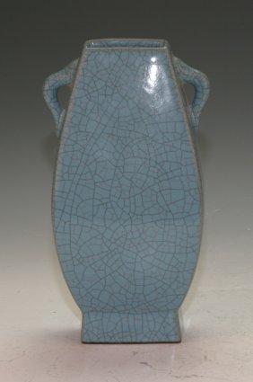Crack Glaze Vase
