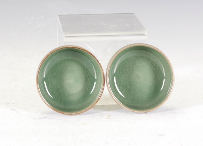 Two Longquan  small items
