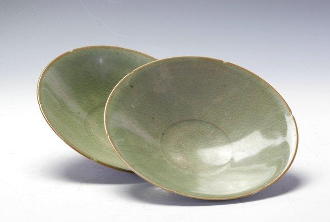 Tow Lognquan deep bowls