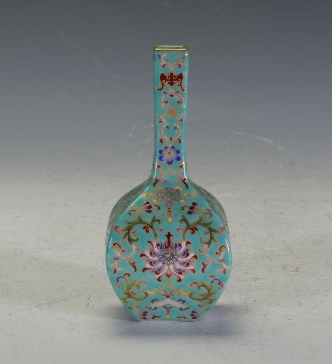 Important Enamel Chinese Vase