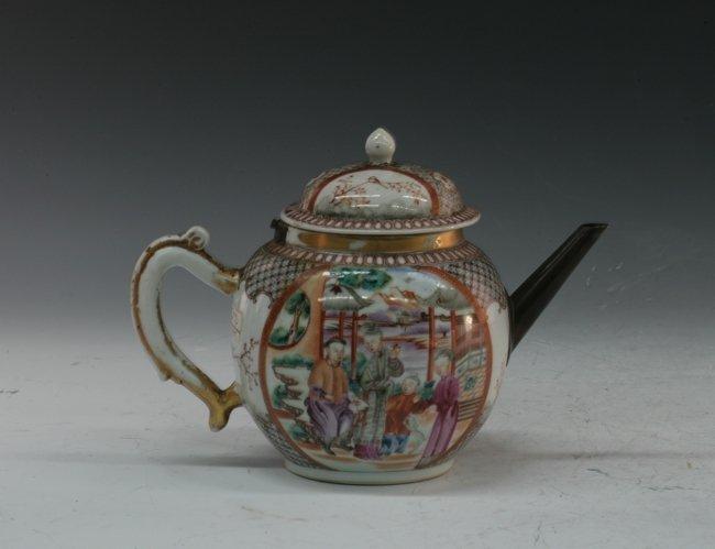 A vintage tea pot