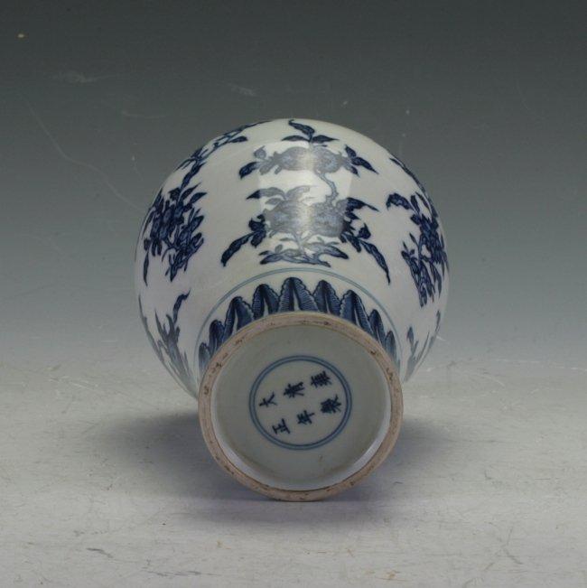 Blue And White Vase - 2