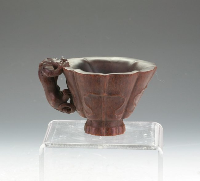 Horn Libation Cup
