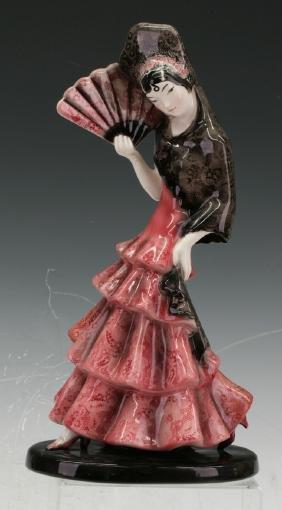 Spanish Dancing girl