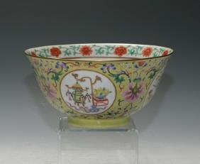 A Large Famille-Rose Bowls