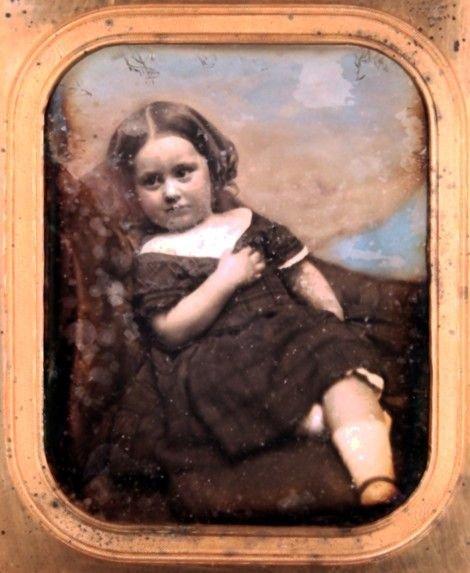 3: Southworth & Hawes Daguerreotype of Little Girl