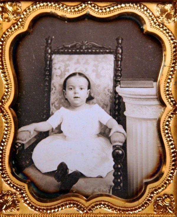 13: Southworth & Hawes 1/6 Plate Daguerreotype