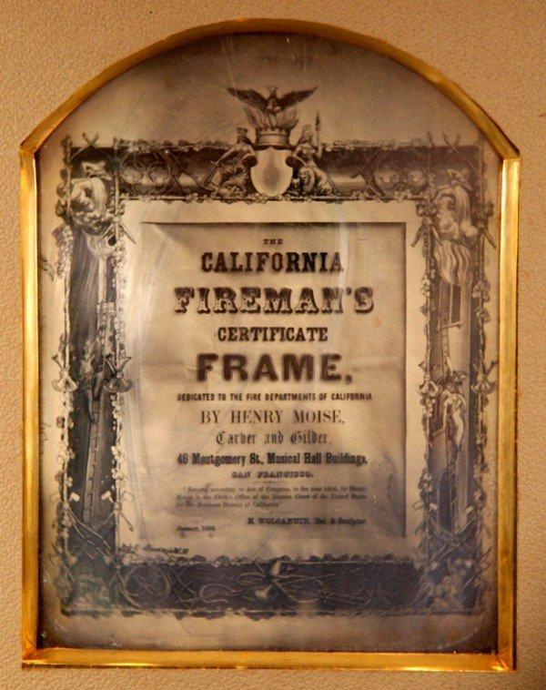 16: California Fireman's Full Plate Daguerreotype 1856
