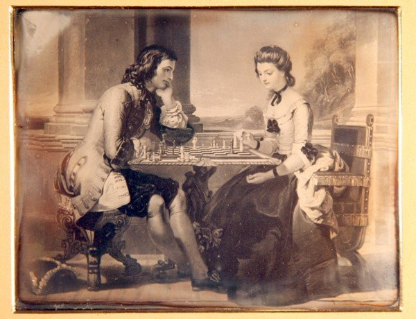 17: Check Mate 1/2 Plate Daguerreotypes