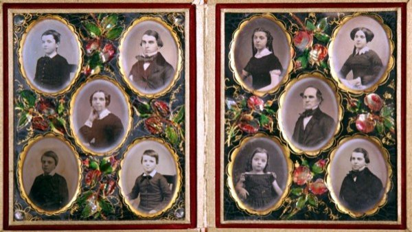 18: Ten Ninth Plate Daguerreotypes of Thompson Family