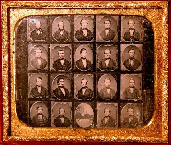 19: School Graduates Daguerreotype