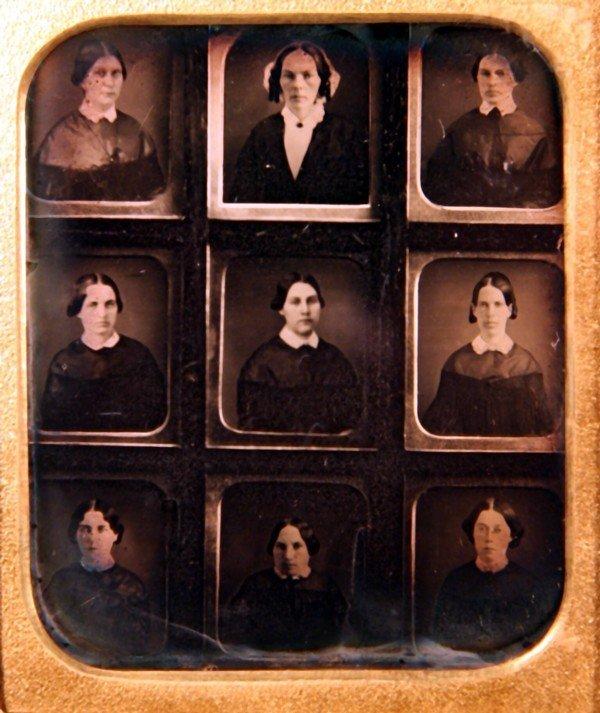 20: A Graduating  Class of Women Daguerreotype