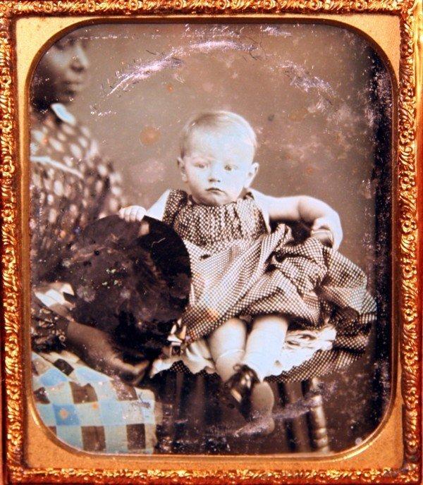 21: African American Nanny Daguerreotype