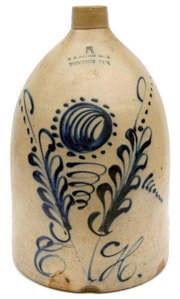 4: F.B. Norton & Sons Stoneware Jug