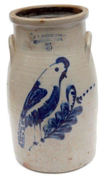 22: F.B. Norton & Co. Buttern Churn Bird